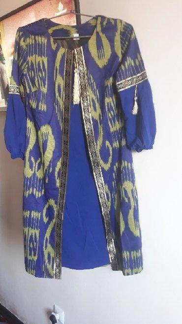 туники со штанами в Кыргызстан: Новое платье со штанами,размер 46-48