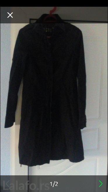 Zenski mantili - Srbija: Zenski crni mantil,moze kao ich haljinica da se nosi strukiran je i pr