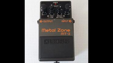 brilliance m2 2 mt - Azərbaycan: Boss Metal Zone Mt 2 Cox az istifadə olunub yeni kimidir
