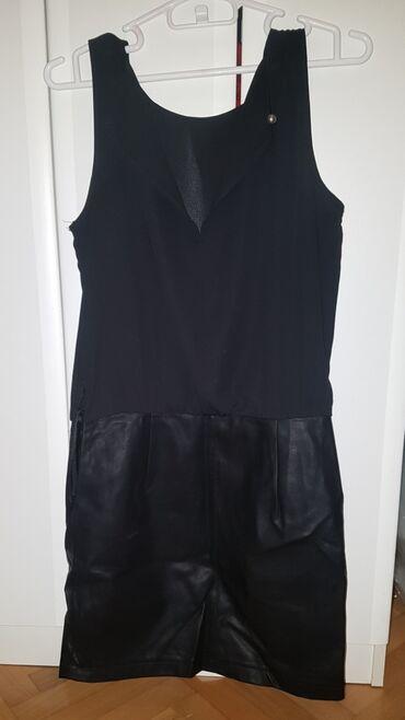 Zenski suknja - Srbija: Haljina zenska kozna suknja, samo 1 nosena. super stanje. kupac snosi