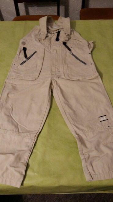 Pantalone za dečake vel.4 god.(nošene ali kao nove)svetlo bež boje - Petrovac na Mlavi