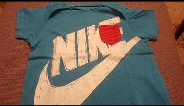 Dečija odeća i obuća | Pozarevac: Nike majica za decu Kao nova 12-18 mes