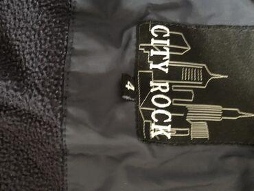 City rock jakna za dečake, potpuno očuvana, zimska jakna, postavljena
