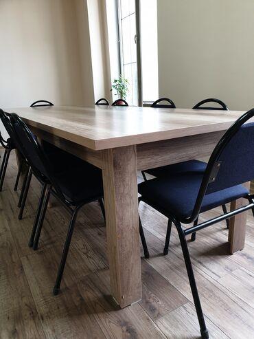 Стол | Офисный, Кухонный, Гостевой | Нераскладной