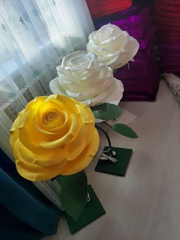 дома на продажу в бишкеке в Кыргызстан: Светильник роза ручной работы. Отличный подарок близким и любимым. Укр