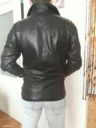 Kožna jakna vrhunskog kvaliteta. šivena po meri, malo nošena,  strukir - Beograd