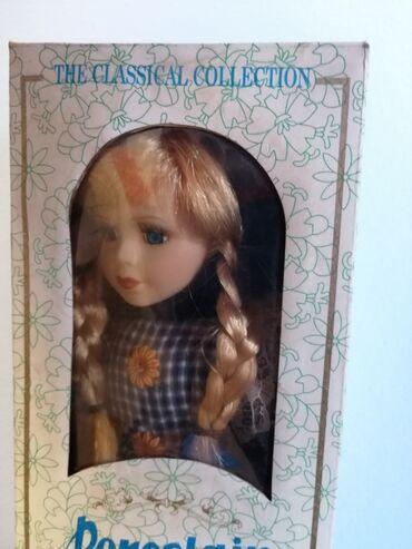 Porcelan - Srbija: Porcelanska lutka Classical collection porcelain doll - Nova, neotpako
