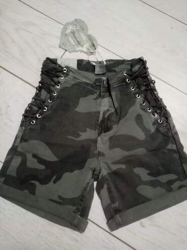 Maskirne pantalone - Srbija: Sorcevi  Maskirni vel xl i l imaju elastina Narandzasti s i m vel