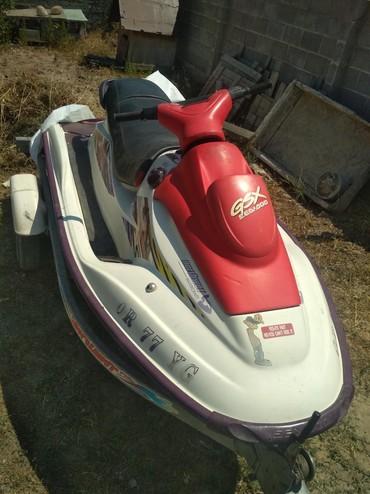 Водный транспорт - Кыргызстан: Продается скутер. двухтактный.+ прицеп