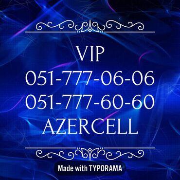 sim sim nomreler - Azərbaycan: 051-777-06-06  051-777-60-60 Yeni VIP Azercell nomreler