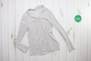 Жіноча сорочка у тоненьку смужку Pull & Bear, p. S    Довжина: 65