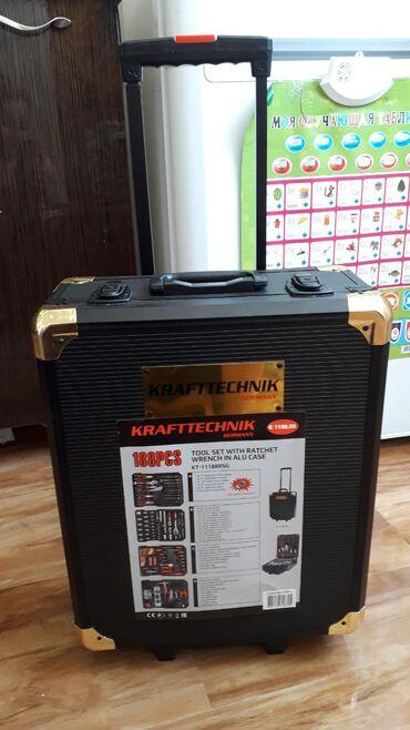 Наборы инструментов - Кыргызстан: Продаю новый набор инструментов и сварочный аппарат. Производство Гер