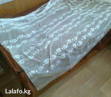 Тюль новый, 2 полотна. качество в Бишкек
