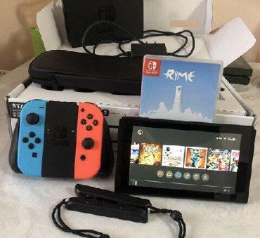 Nintendo gamecube - Кыргызстан: Продаю нинтендо свитч, Прошитый полностью! Один месяц в использовании!