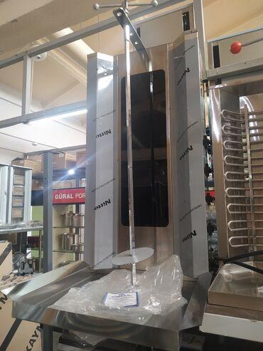 индюк гриль бишкек в Кыргызстан: Аппарат для шаурмы электрический Görkem - Турция4 нагревательных