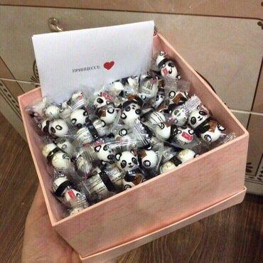 Подарки  Шоколад панда  Заранее заказывать Принцессе