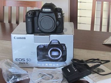 Камера Canon EOS 5D Mark IV 30.4MP DSLR в Душанбе