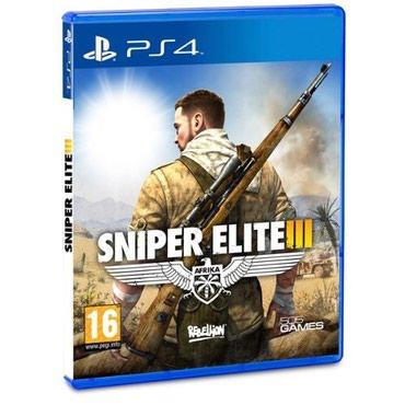Bakı şəhərində Ps4 ucun sniper elite 3 oyunu bagli upokovada