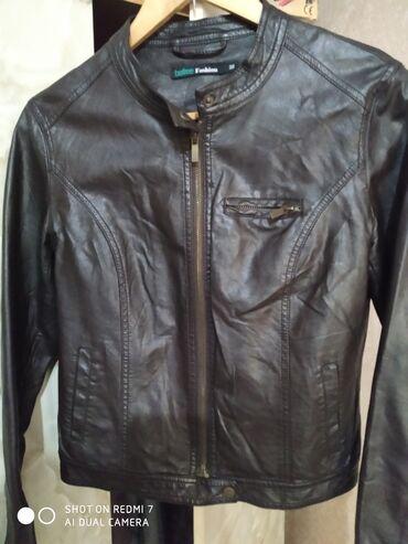 Г.Ош Продам новую женскую кожаную куртку размер - 44 - 46