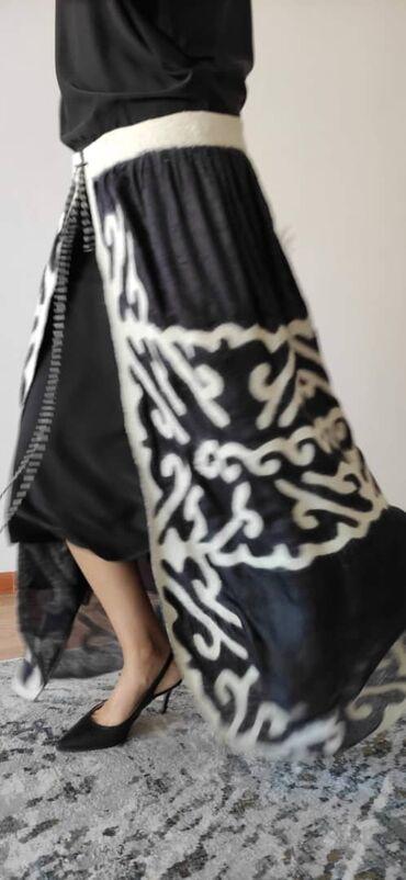 вечернее платье шелк в Кыргызстан: Белдемчи от Seven Sisters, шелк + войлок, можно повязать на любое плат