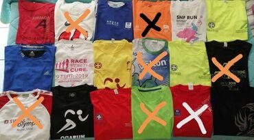 Αθλητικά μπλουζάκια από αγώνες τρεξίματος.Έχουν φορεθεί μόνο μία φορά
