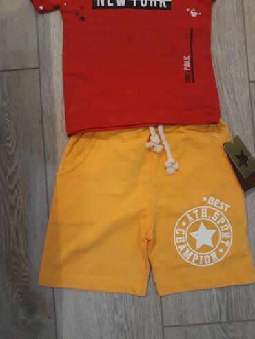 мужские шорты в Кыргызстан: Вещи с Турции качественно и не дорого!!!  Шорты  комплект на девочку с