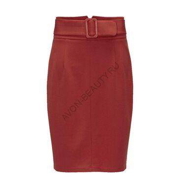 Продаю юбочку!Оранжево-красного цвета!Фирма Avon !44-46 размер