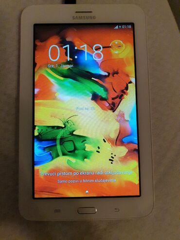 Elektronika - Raca Kragujevacka: SAMSUNG Tablet, malo korišćen, nema oštećenja. Vraćen je na fabričko
