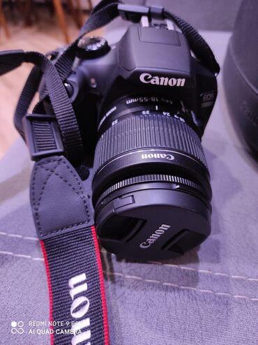 Canon EOS 1300DAlmaniyadan getirilib. yeniden ferqlenmir hec bir