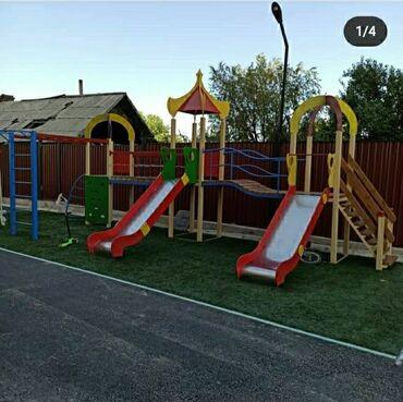 Детский мир - Орто-Сай: Детский игровой комплексДетский комплекс для детских площадок. Средний