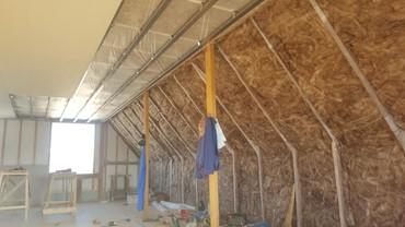фанера 18 мм в Кыргызстан: Утепление мансардных крыш и обшивка. гипсакартон. осб фанер