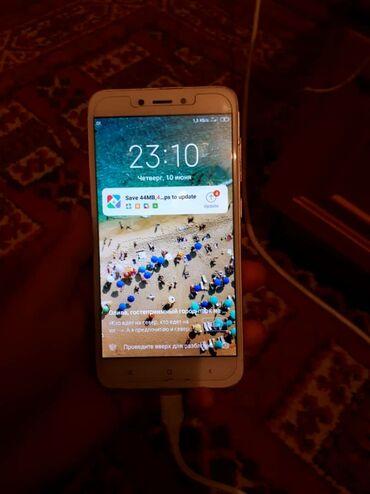 Электроника - Кемин: Xiaomi Redmi 4X | 16 ГБ | Белый | Сенсорный, Отпечаток пальца, Две SIM карты