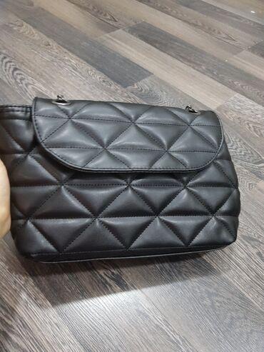Черная НОВАЯ сумочка, производство Турция. Фурнитура вся черная