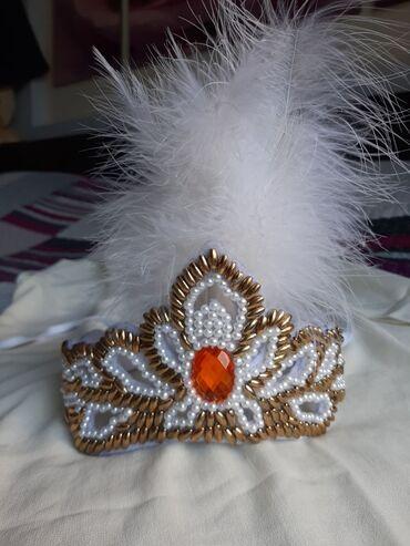 Свадебные аксессуары - Кыргызстан: Украшение на голову для Кыз узатуу, ручная работа, состояние новое, ра