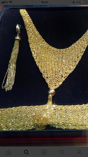 Продаю серьги от Marco Giovanni. Желтое золото, 585 проба, 15 гр.  в Бишкек