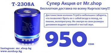 Доставка по всему Кыргызстану! Bluetooth колонка, в Бишкек