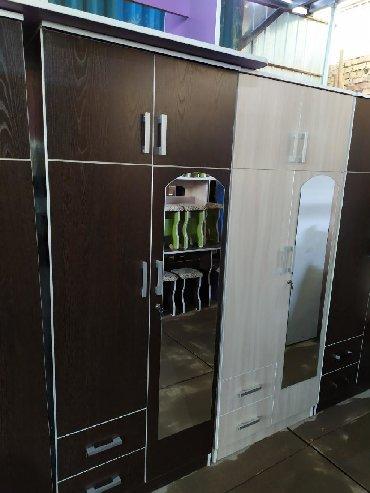купить-складной-шкаф-из-ткани в Кыргызстан: Новый шкаф двухдверный