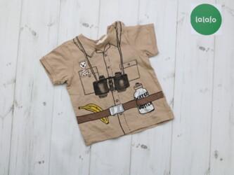 Футболка H&M для малыша 4-6 месяцев    В комплект идут шорты 20000