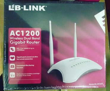 Lb-Link Gigabit Router 70azn3 ay işləməyinə zəmanət verilir.Metrolara