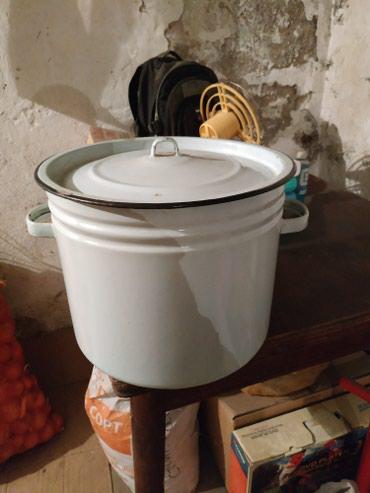 Кастрюля эмалированная! 20 литров! в Бишкек