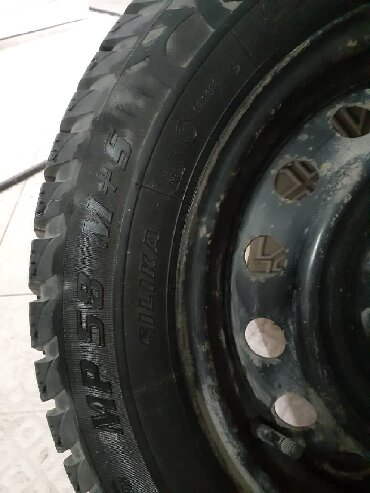 купить диск на машину в Кыргызстан: Диски с Шинами от Toyota. ВсесезонкаПродаю резину вместе с дисками (4