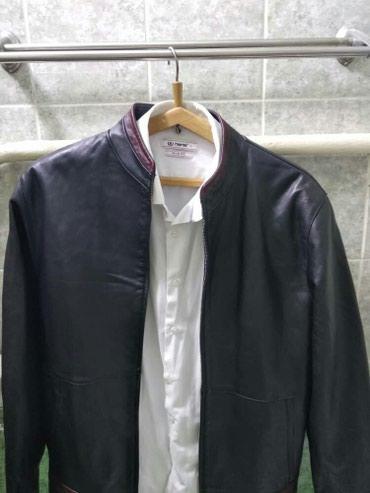 Мужская кожанная куртка в Бишкек