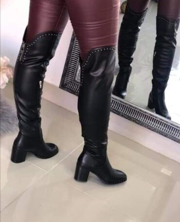 Nove duboke cizme Stabilna stikla, udobne