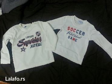 Obe za 500 din! Dve kvalitetne majice na dug rukav za decake! Velicina - Valjevo