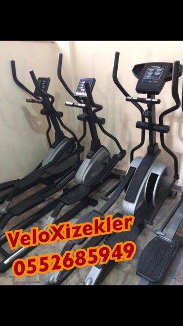 Bakı şəhərində 140-150 kiloluq velotrenajorlar