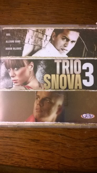 Cd trio snova - Beograd