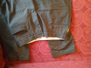 Armani παντελόνι, γνήσιο, made in Italy, γκρι, μέγεθος 52 (ΙΤΑLY)