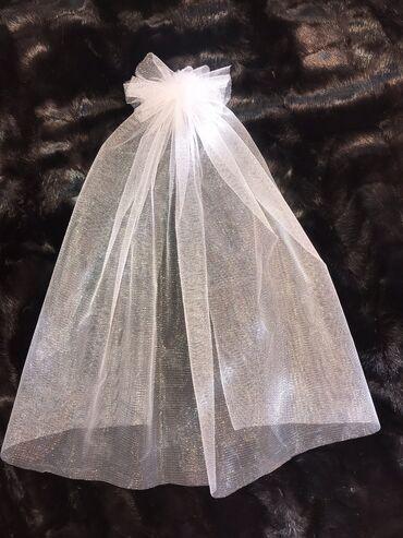 ленточки для подружек невесты в Кыргызстан: Фата для подружек 50сомдля невесты 100сом  От 3шт и выше идет в под