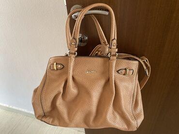 Τσάντα Kem που κρατιέται στο χέρι αλλά μπορεί να μπει και χιαστή