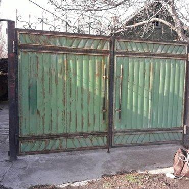 покрасим ваши ворота,навесы,перила,заборы,мебель кованную и т.д.корот в Кант